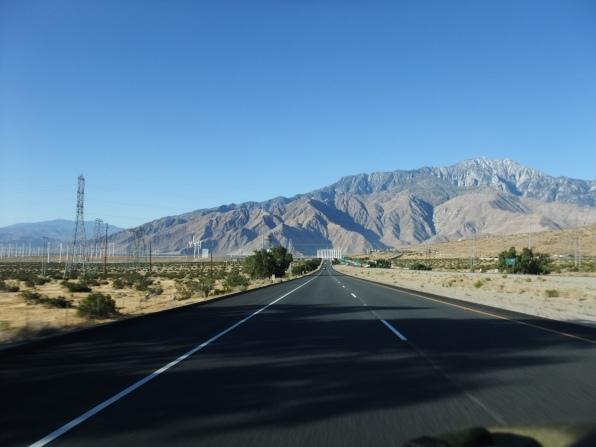 De retour vers Palm Springs