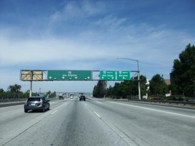 Sur la HW vers L.A.