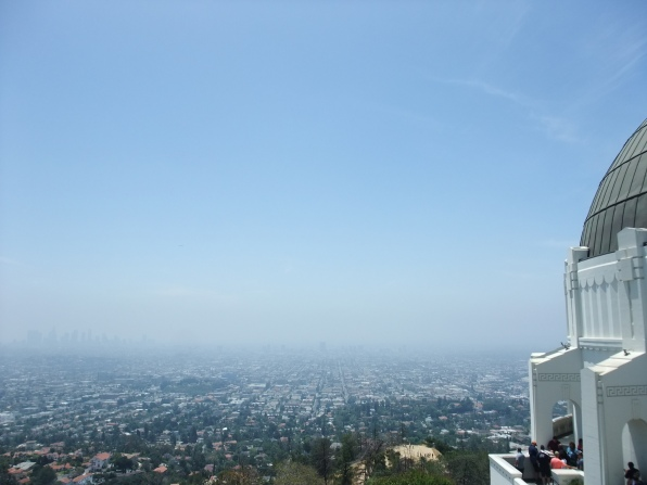 Los Angeles vue du Griffith Observatory